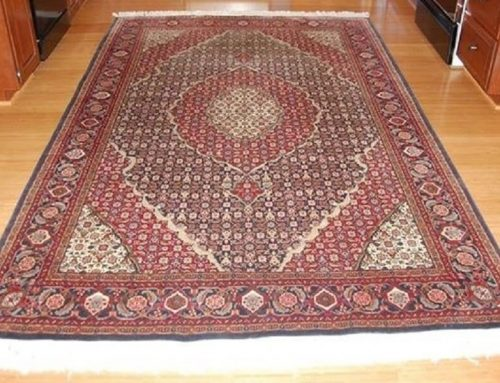 Oriental Rug Colour Restoration Project