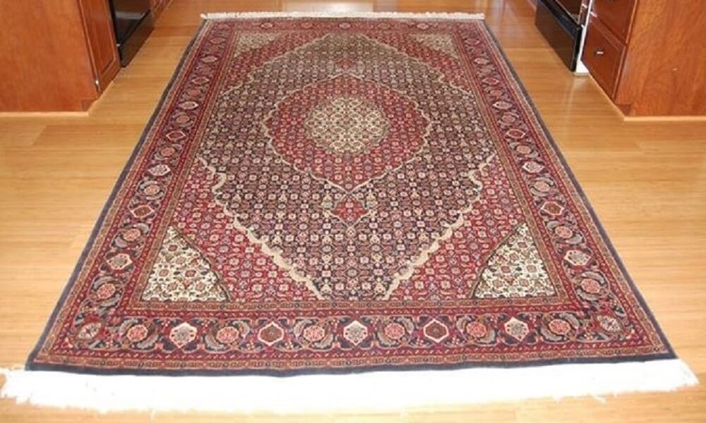 Oriental Rug Colour Restoration Project- After