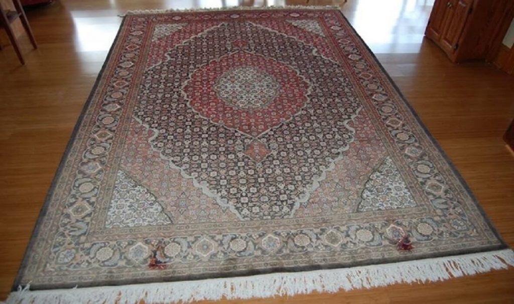 Oriental Rug Colour Restoration Project- Before